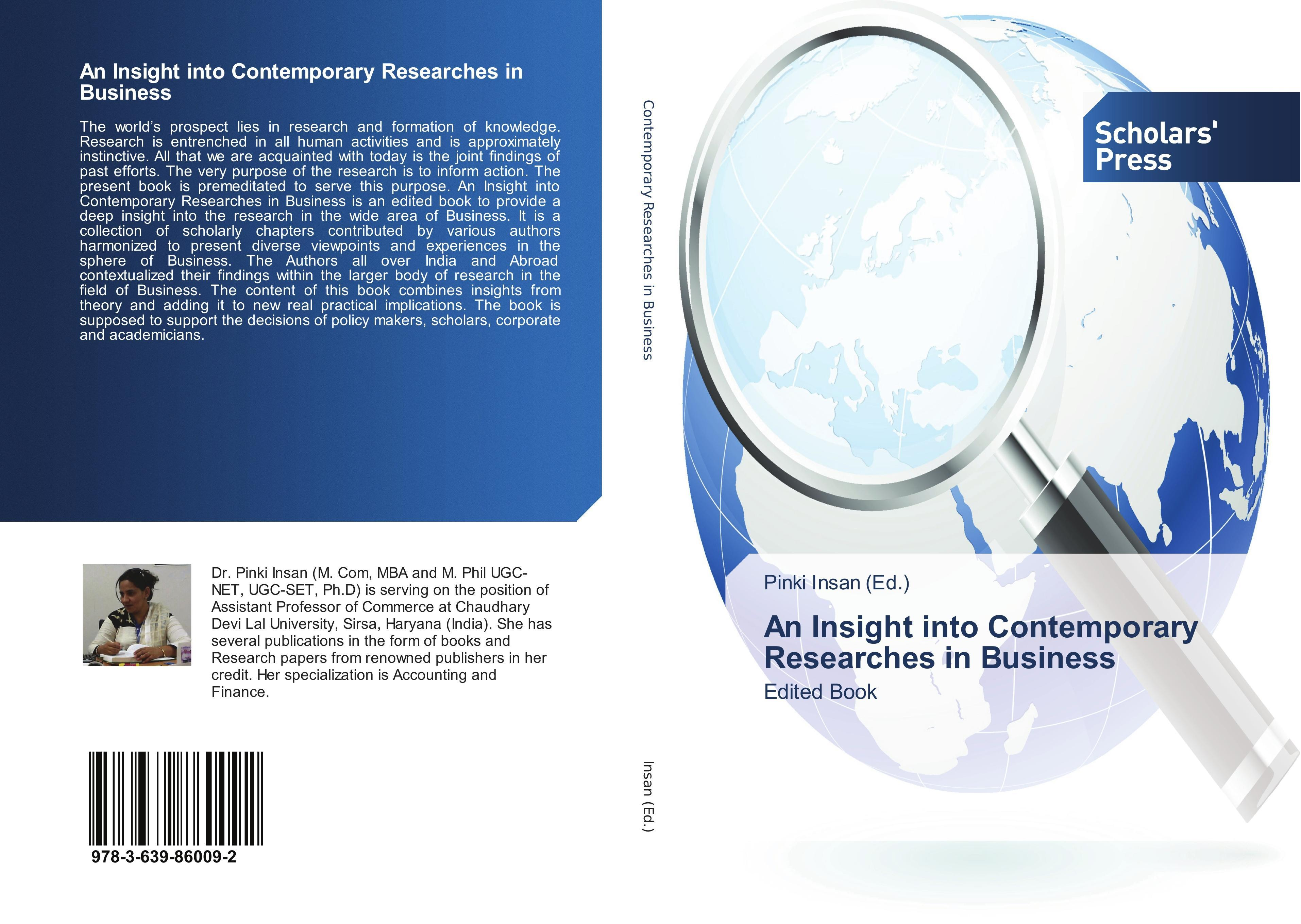 An Insight into Contemporary Researches in Business - Pinki  ... 9783639860092