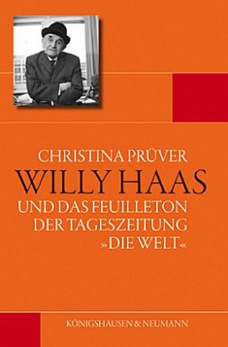 Willy Haas Christina Prüver