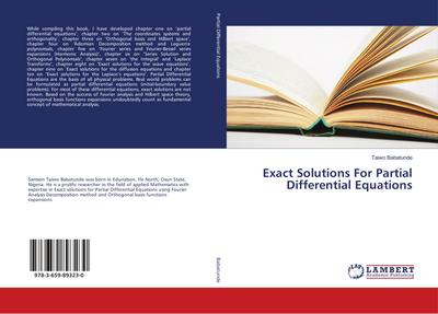 Exact Solutions For Partial Differential Equations