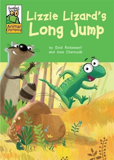 Froglets: Animal Olympics: Lizzie Lizard's Long Jump
