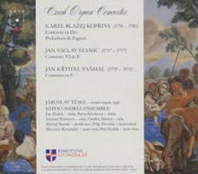 Musicae Fons Aureus: Tschechische Orgelkonzerte