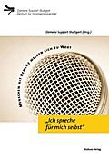 """""""Ich spreche für mich selbst""""; MenschenmitDemenzmeldensichzuWort; Demenz Support Stuttgart; Deutsch"""
