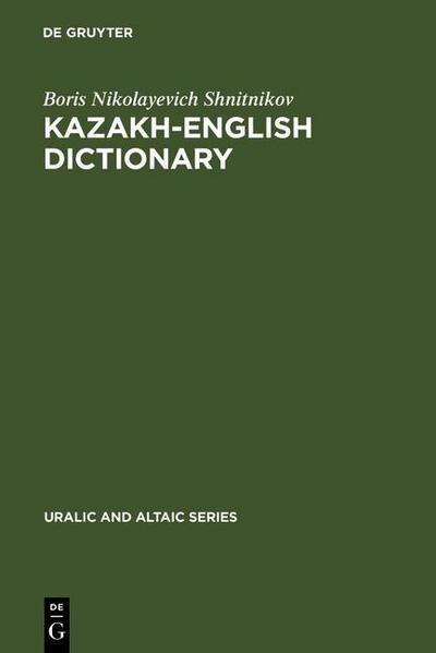 Kazakh-English dictionary