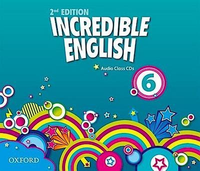 Incredible English 6: Class Audio CDs