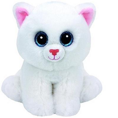 Pearl - Katze weiss, 15 cm