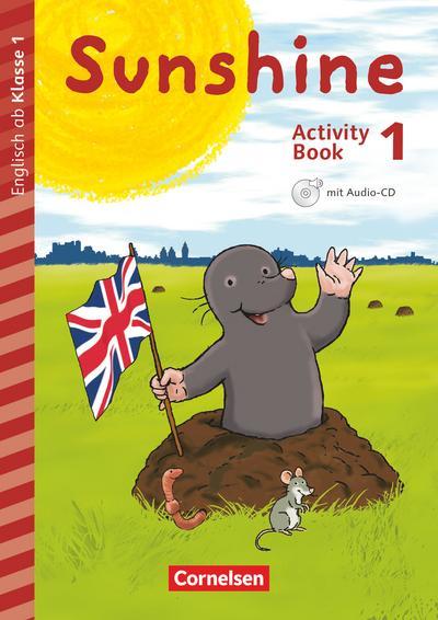 Sunshine - Early Start Edition 1. Schuljahr. Activity Book mit Audio-CD, Minibildkarten und Faltbox