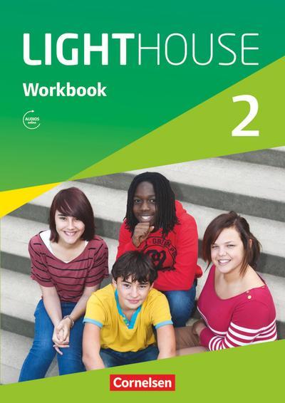 English G LIGHTHOUSE 02: 6. Schuljahr. Workbook mit Audios online
