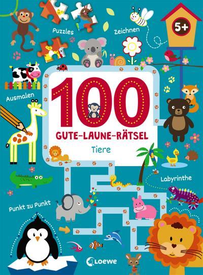100 Gute-Laune-Rätsel - Tiere