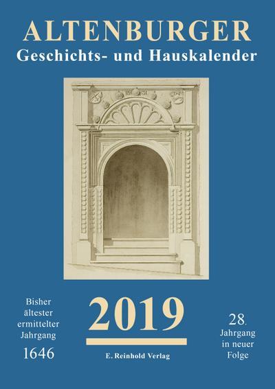 Altenburger Geschichts- und Hauskalender 2019
