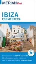 MERIAN live! Reiseführer Ibiza Formentera; Mit Extra-Karte zum Herausnehmen; MERIAN live; Deutsch