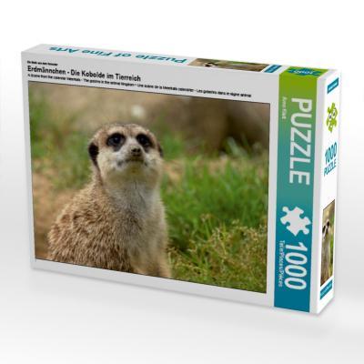 Ein Motiv aus dem Kalender Erdmännchen - Die Kobolde im Tierreich (Puzzle)