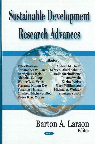 Sustainable Development Research Advances
