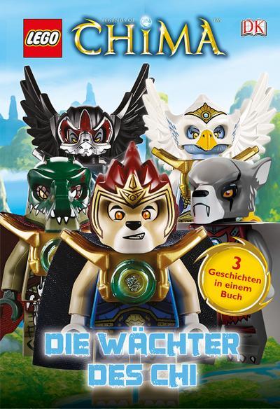LEGO® Legends of Chima™. Die Wächter des Chi; Deutsch; ca. 150 farbige Abbildungen