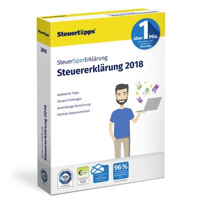 SteuerSparErklärung 2019, 1 CD-ROM