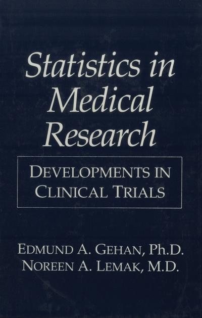 Statistics in Medical Research