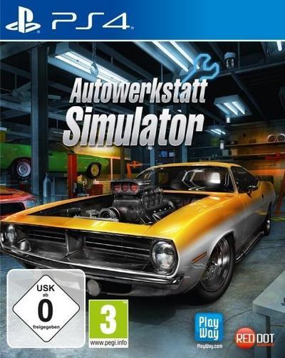 Autowerkstatt Simulator (PlayStation PS4)