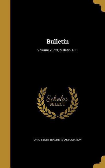 BULLETIN VOLUME 20-23 BULLETIN
