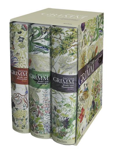 Kinder- und Hausmärchen: Ausgabe letzter Hand mit den Originalanmerkungen der Brüder Grimm. Drei Bände in einer Kassette