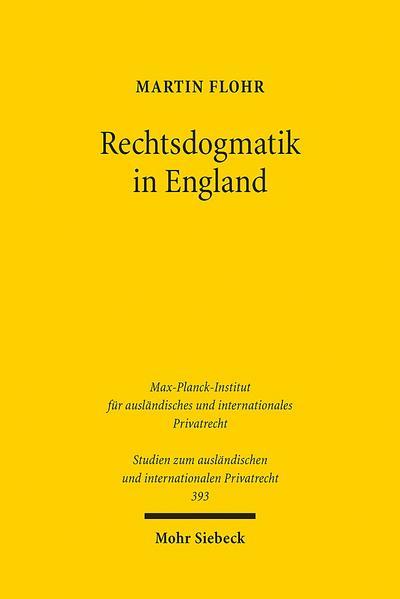 Rechtsdogmatik in England