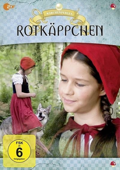 6 Märchenperlen - Rotkäppchen