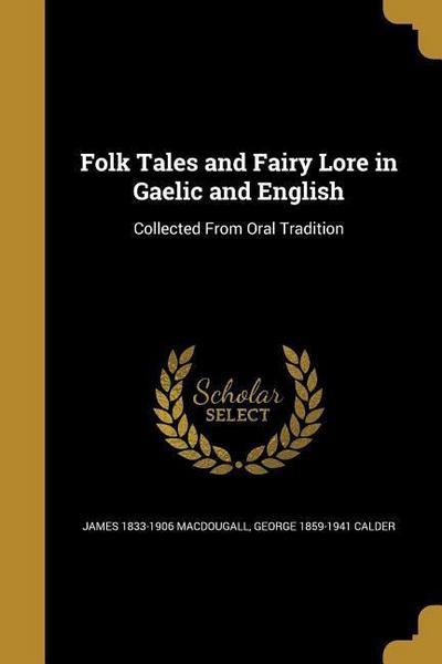 FOLK TALES & FAIRY LORE IN GAE