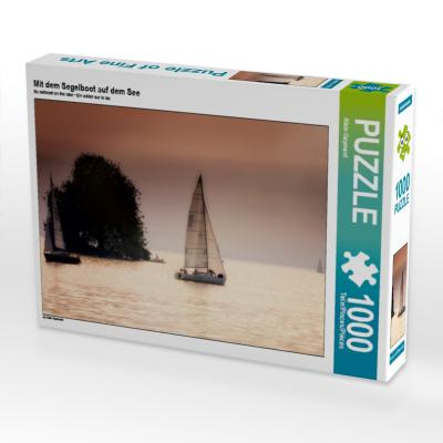Mit dem Segelboot auf dem See (Puzzle)