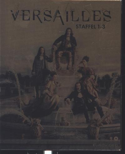 Versailles Gesamtbox. Staffel.1-3, 9 Blu-ray