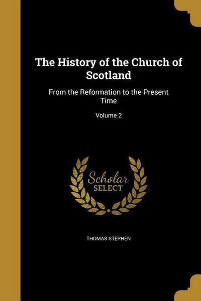 HIST OF THE CHURCH OF SCOTLAND