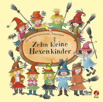 Zehn kleine Hexenkinder