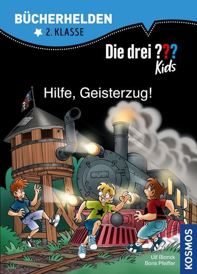 Die drei ??? Kids, Bücherhelden, Hilfe, Geisterzug!