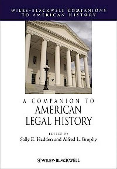 A Companion to American Legal History