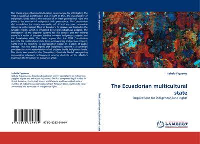 The Ecuadorian multicultural state