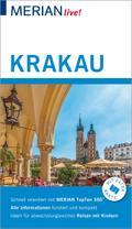 MERIAN live! Reiseführer Krakau; Mit Extra-Karte zum Herausnehmen; MERIAN live; Deutsch