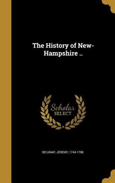 HIST OF NEW-HAMPSHIRE