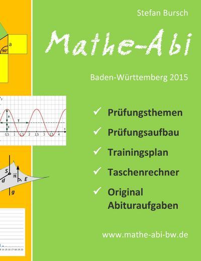 stefan bursch mathe abi baden w rttemberg 2015 9783735780799 ebay. Black Bedroom Furniture Sets. Home Design Ideas