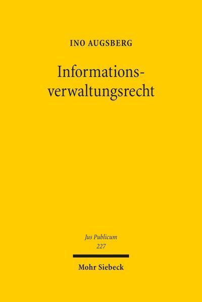 Informationsverwaltungsrecht