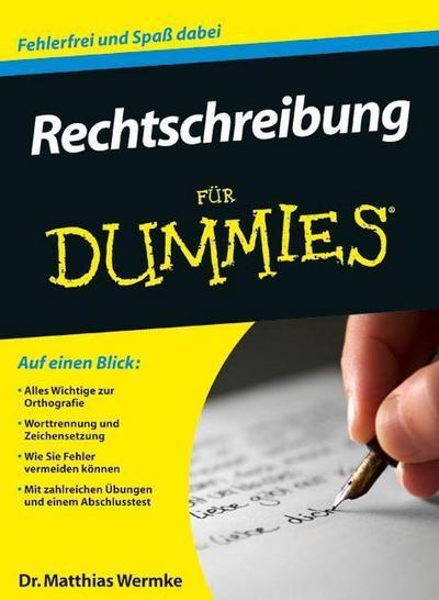 Rechtschreibung für Dummies