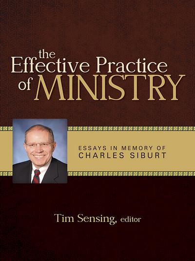 Effective Practice of Ministry