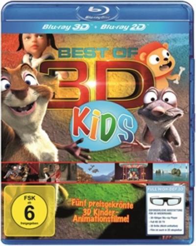 Best of 3D für Kids - Der große 3D Kinderspaß [3D Blu-ray] - 3D Content Hub - Blu-ray, Deutsch, , ,