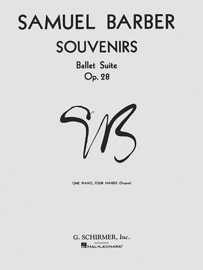 Souvenirs Ballet Suite, Op. 28 (Original): National Federation of Music Clubs 2014-2016 Selection Piano Duet