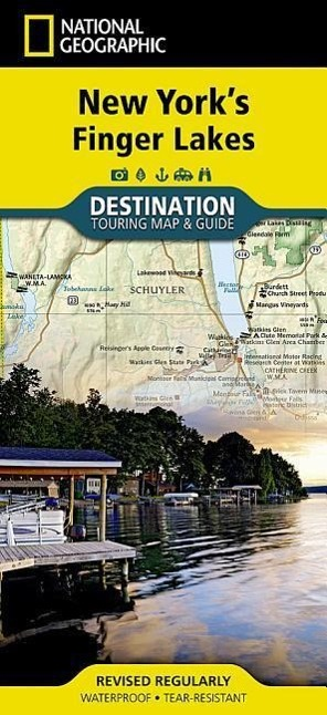 Finger Lakes National Geographic Maps