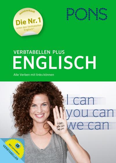 PONS Verbtabellen Plus Englisch: Alle Verben mit links können