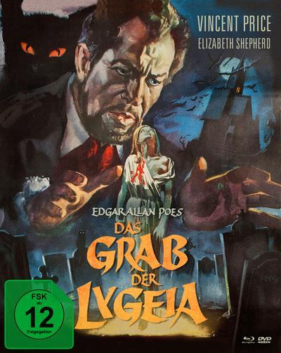 Das Grab der Lygeia (Version B), 1 Blu-ray + 1 DVD (Mediabook)