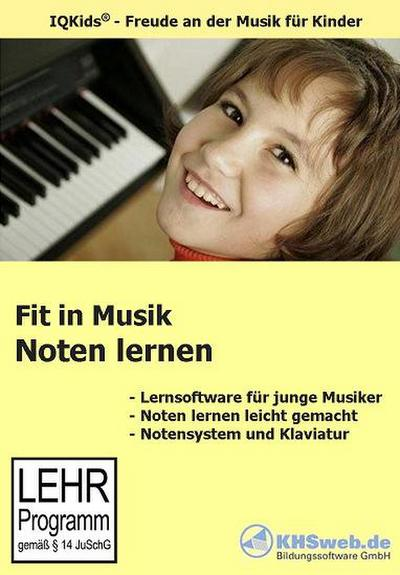 Fit in Musik: Noten lernen - CD-ROM für Windows 95/98/NT/ME/2000/XP