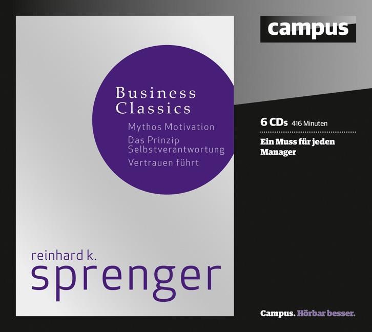 Sprenger Business Classics Reinhard K. Sprenger