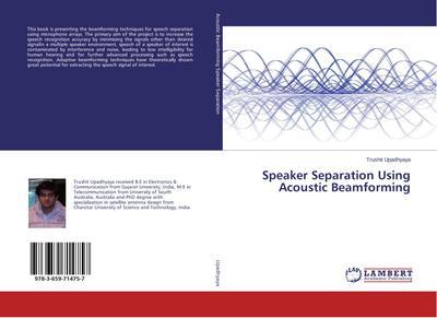 Speaker Separation Using Acoustic Beamforming
