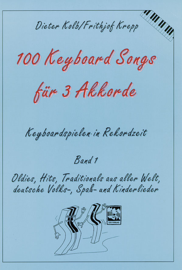 100 Keyboard Songs Für 3 Akkorde Dieter Kolb