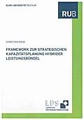 Framework zur strategischen Kapazitätsplanung hybrider Leistungsbündel