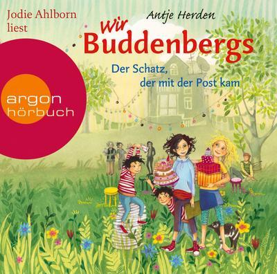Wir Buddenbergs - Der Schatz, der mit der Post kam, 2 Audio-CDs