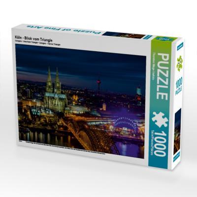 Köln - Blick vom Triangle (Puzzle)